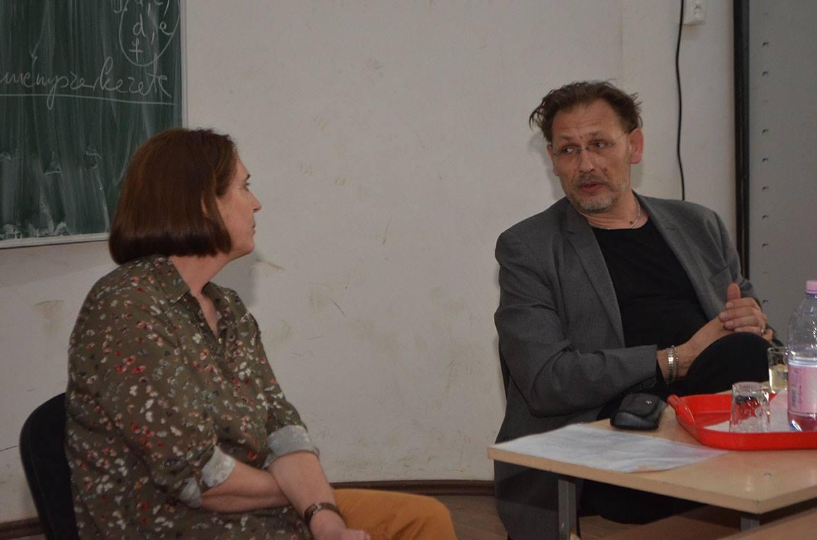 Bartis Attila a Művészeti Líceumban