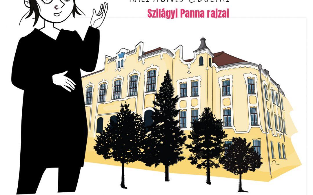 Kali Ágnes @Bolyai | Szilágyi Panna rajzai